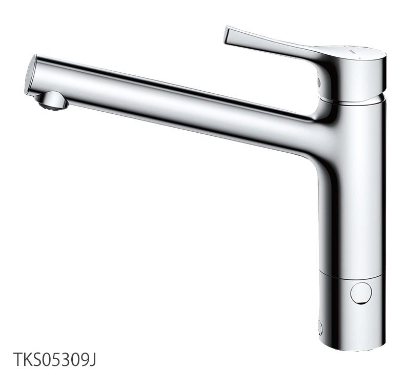 台付シングル混合水栓(分岐口付きタイプ) キッチン蛇口 TKS05309J TOTO GGシリーズ
