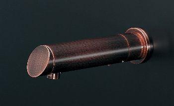 独特の素材 センサー水栓//ロング、ブロンズ 713-504:リホームストア店 カクダイ-エクステリア・ガーデンファニチャー