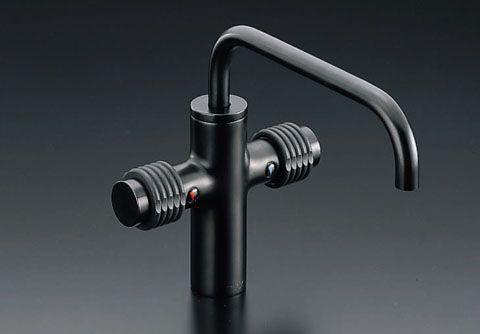 INAX 2ハンドル混合水栓(ワンホールカウンター取付タイプ) LF-740/SAB