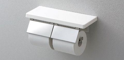 TOTO 棚付二連紙巻器 YH403FW