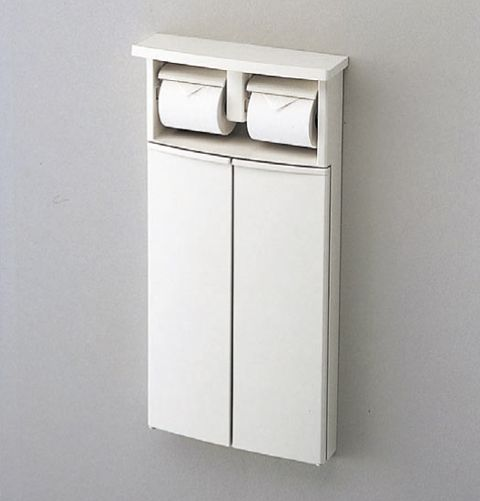 TOTO 二連紙巻器一体形収納キャビネット YSC25N