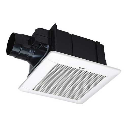 三菱電機 換気扇 VD-15ZCD9 ダクト用換気扇 低騒音形 電動シャッター付(マンション・寒冷地用) 接続Φ100mm 埋込寸法260mm角