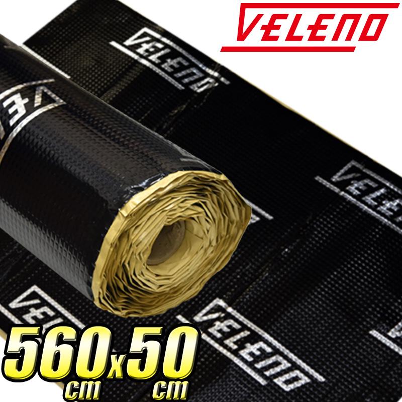 【店内最大15%オフ】VELENO デッドニングシート 5600×510mm デッドニング 高機能制振材 制振 防音 音質向上 ロードノイズの低減【宅配便配送商品】 送料無料
