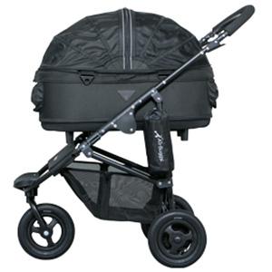 エアバギー フォードッグ ドーム2 ブレーキモデル Mサイズ ブラック ペット用バギー Air Buggy(犬用)【返品・交換不可】 【代金引換不可・コンビニ後払い不可】