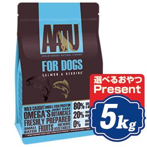 AATU (アートゥー) ドッグ サーモン 5kg ドッグフード【正規品】