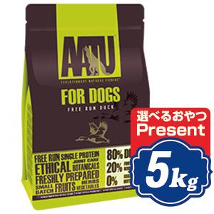 AATU (アートゥー) ドッグ ダック 5kg ドッグフード【正規品】
