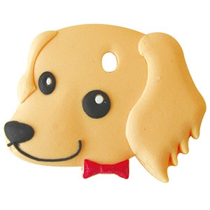 デポー 鍵を可愛くカバーするペットキーカバー犬ダックスフンド 購入 クリーム メール便可 犬 ダックスフンド ペットキーカバー
