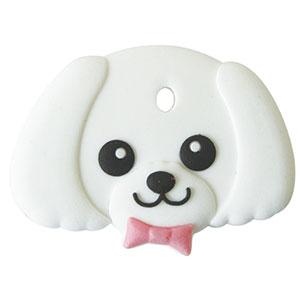 鍵を可愛くカバーするペットキーカバー犬マルチーズ メール便可 まとめ買い特価 ペットキーカバー 犬 マルチーズ 評判