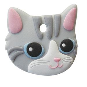 鍵を可愛くカバーするペットキーカバー猫アメリカンショートヘア メール便可 ペットキーカバー キャンペーンもお見逃しなく 猫 ハイクオリティ アメリカンショートヘア