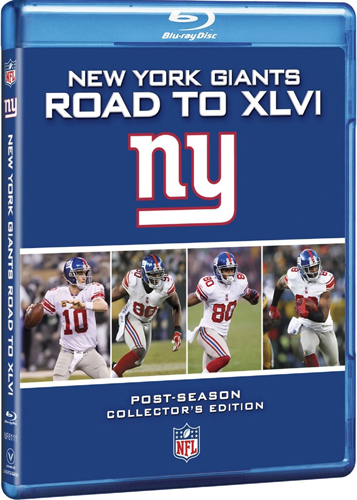 SALE OFF!新品Blu-ray!NFL New York Giants: Road to XLVI [Blu-ray]!