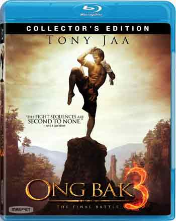 SALE OFF!新品北米版Blu-ray!【マッハ!参】 Ong Bak 3 (Collector's Edition) (Blu-ray)