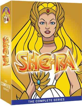 SALE OFF!新品北米版DVD!She-Ra: The Complete Series (10 Discs)
