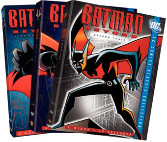 SALE OFF!新品北米版DVD!【バットマン・ザ・フューチャー:シーズン1~3】 Batman Beyond: Season 1~3 (DC Comics Classic Collection)!