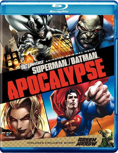 SALE OFF!新品北米版Blu-ray!【スーパーマン/バットマン アポカリプス】 Superman/Batman: Apocalypse [Blu-ray] (Includes GREEN ARROW)!