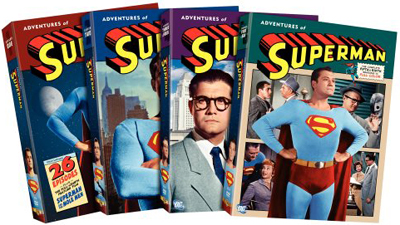 SALE OFF!新品北米版DVD!Adventures of Superman - The Complete Seasons (1~6!