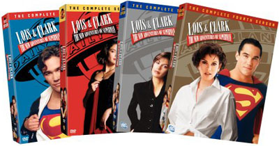 SALE OFF!新品北米版DVD!【新スーパーマン ロイス&クラーク:シーズン1~4】 Lois & Clark - The New Adventures of Superman - The Complete 1~4 Season!
