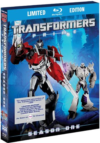 SALE OFF!新品北米版Blu-ray!【トランスフォーマー・プライム】 第1シーズン全話!Transformers Prime: The Complete First Season [Blu-ray]!