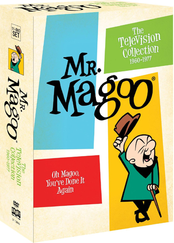 SALE OFF!新品北米版DVD!【近眼のマグー】 Mr. Magoo: The Television Collection, 1960-1977!