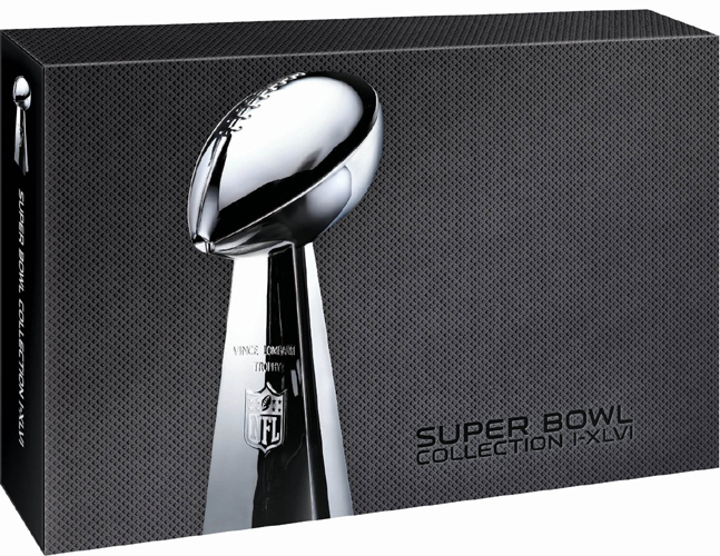 SALE OFF!新品DVD!【スーパーボウル決定盤 第1回~第46回】 NFL Super Bowl Collection I-XLVI!