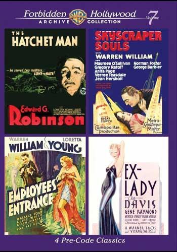 新品北米版DVD!Forbidden Hollywood Collection Volume 7!