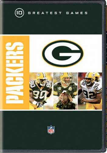 SALE OFF!新品DVD!NFL: Greatest Games Series: Green Bay Packers Greatest Games!