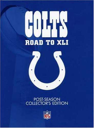SALE OFF!新品DVD!NFL: Indianapolis Colts: Road to Super Bowl XLI (Post-Season Collector's Edition))!