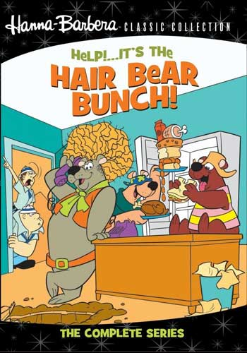 SALE OFF!新品北米版DVD!【くまくんトリオ大脱走】 Help! It's the Hair Bear Bunch! - The Complete Series!