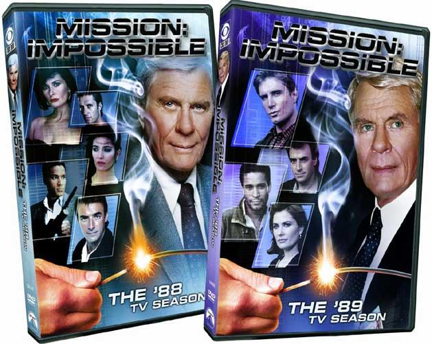 新品北米版DVD!【新スパイ大作戦】 Mission Impossible: The '88 & '89 TV Seasons!