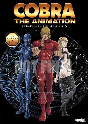 新品北米版DVD!『Cobra the Animation OVA 全6話』+『Cobra the Animation(TVシリーズ第2作)全13話』<コブラ>