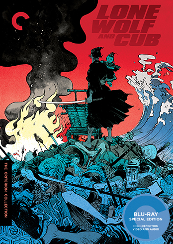 新品北米版Blu-ray!<子連れ狼 全6作(『子を貸し腕貸しつかまつる』『三途の川の乳母車』『死に風に向う乳母車』『親の心子の心』『冥府魔道』『地獄へ行くぞ!大五郎 』)