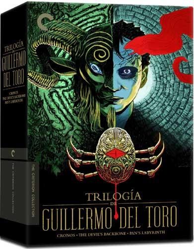 新品北米版DVD!<ギレルモ・デル・トロ(『クロノス』『デビルズ・バックボーン』『パンズ・ラビリンス』)> Trilogia de Guillermo Del Toro (The Criterion Collection)