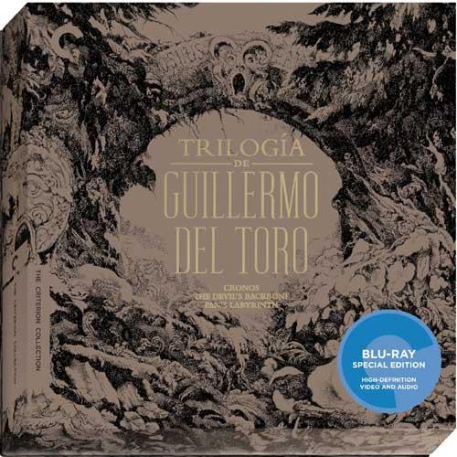 新品北米版Blu-ray!<ギレルモ・デル・トロ(『クロノス』『デビルズ・バックボーン』『パンズ・ラビリンス』)> Trilogia de Guillermo Del Toro (The Criterion Collection) [Blu-ray]