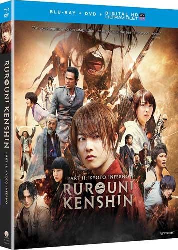 新品北米版Blu-ray!【るろうに剣心 京都大火編】 <実写映画化第2弾>