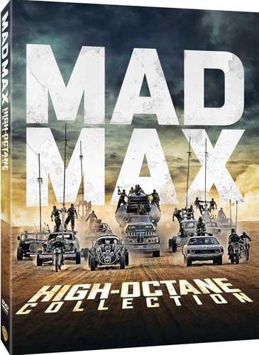 新品北米版DVD!Mad Max High Octane Collection!<マッドマックス ハイオク・コレクション>(シリーズ全作+『マッドマックス 怒りのデス・ロード:ブラック&クローム・エディション(モノクロ版)』)
