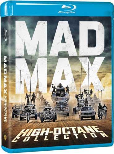 新品北米版Blu-ray!Mad Max High Octane Collection [Blu-ray]!<マッドマックス ハイオク・コレクション>(シリーズ全作+『マッドマックス 怒りのデス・ロード:ブラック&クローム・エディション(モノクロ版)』)