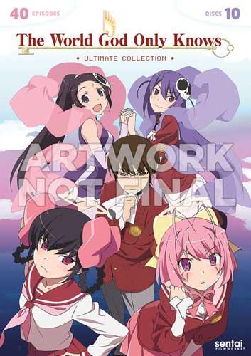 新品北米版DVD!【神のみぞ知るセカイ】第1~3期+OVA 全40話!<アルティメイト・コレクション>