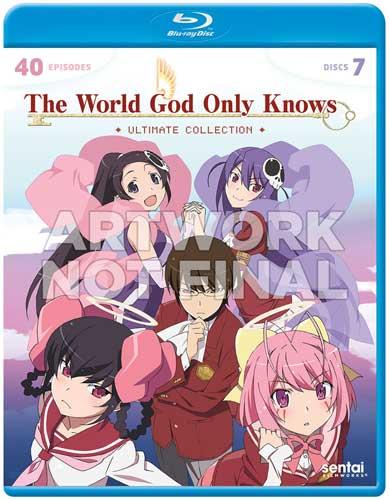 新品北米版Blu-ray!【神のみぞ知るセカイ】第1~3期+OVA 全40話!<アルティメイト・コレクション>