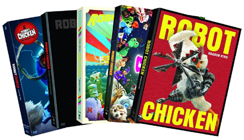 SALE OFF!新品北米版DVD!Robot Chicken Season 1~5!