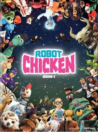 SALE OFF!新品北米版DVD!Robot Chicken Vol.4!