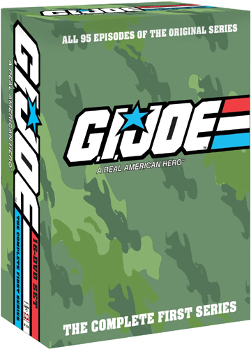 SALE OFF!新品北米版DVD!【G.I.ジョー シーズン1(全95話)】 G.I. Joe A Real American Hero: The Complete First Series!