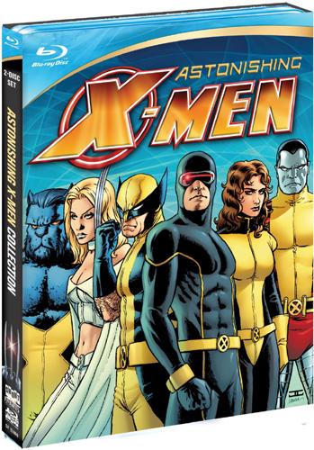 SALE OFF!新品北米版Blu-ray!【アストニッシングX‐MEN】 Marvel Knights: Astonishing X-Men Box [Blu-ray]!
