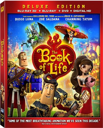 SALE OFF!新品北米版Blu-ray 3D!【ザ・ブック・オブ・ライフ 3D】 The Book of Life [Blu-ray 3D/Blu-ray/DVD]!<ギレルモ・デル・トロ プロデュース>