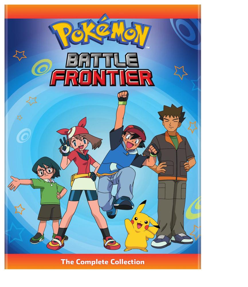 新品北米版DVD!【ポケットモンスター アドバンスジェネレーション・バトルフロンティア編(全47話)】 Pokemon Battle Frontier Complete Collection!<アメリカ放映版/英語音声>