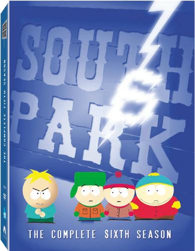 SALE OFF!新品北米版DVD!【サウスパーク シーズン6】 South Park: The Complete Sixth Season