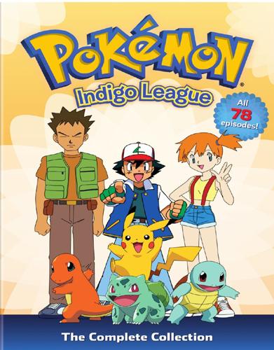 SALE OFF!新品北米版DVD!【ポケモン/ポケットモンスター】Pokemon: Season 1 - Indigo League - The Complete Collection <英語音声>