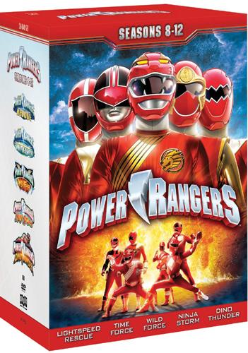SALE OFF!新品北米版DVD!【パワーレンジャー】【シーズン8-12】!Power Rangers: Season 8-12!(米国編集版)
