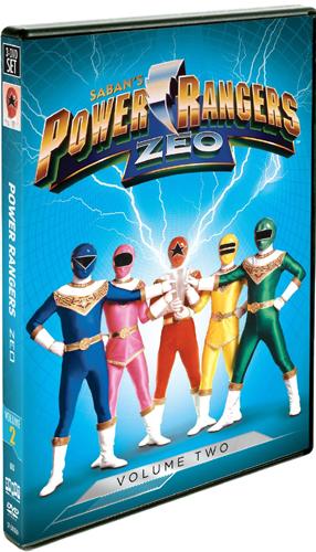 <新入荷続々> SALE OFF!新品北米版DVD!【パワーレンジャー・ジオ Vol.2】 Power Rangers Zeo, Vol. 2!