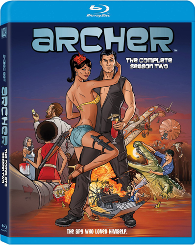 SALE OFF!新品北米版Blu-ray!Archer: The Complete Season Two [Blu-ray]!