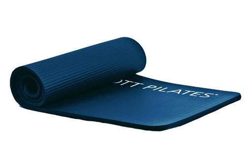 STOTT PILATES(ストットピラティス)デラックスピラティスマット<ミッドナイトブルー(ブルー)>(15mm) ヨガマット yoga