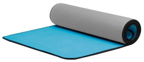 MERRITHEW(メリシュー)Hot Yoga Plus Mat (Blue/Grey) <ホットヨガマット> 6mm yoga/ヨガ